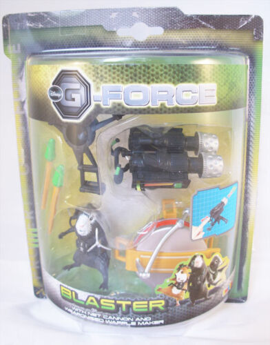 BLASTER - G-Force - Figurine avec accessoires - Disney
