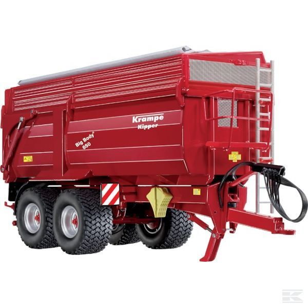 Wiking Krampe Big Body 650 Tipping Remorque 1 32 SCALE MODEL Toy Gift Christmas