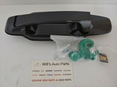 GENUINE NEW OUTER DOOR HANDLE REAR LH NONPAINTED SUIT KIA SORENTO AUTO 2005-2008