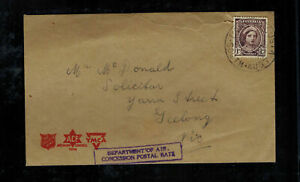 1940s-Royal-Australia-Air-Force-PO-RAAF-Cover-to-Seelong-Salvation-Army-YMCA