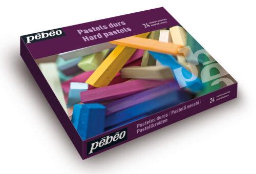 Pebeo Künstler Hart Zeichnen Box Set 24 Assorted Colour Sticks