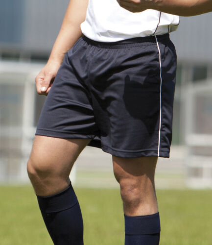Tombo homme football shorts sports gym hockey tennis running jogging non doublée.