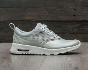 Repeler Dar Desviación  NIKE Air Max Thea Premium Metallic Platinum Muted Silver 8 Sneakers 904500  004 | eBay