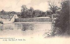 1905 Waterfalls City Park Fort Worth TX post card