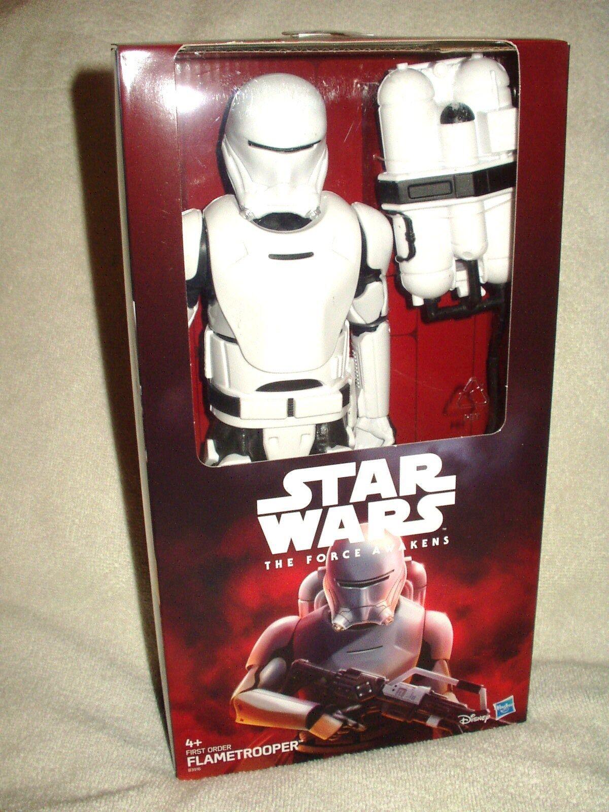 Action Figure Star Wars The Force Awakens Flametrooper 12 inch