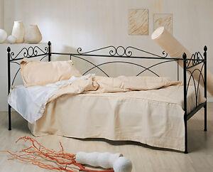Divano letto in ferro battuto camilla singolo ebay
