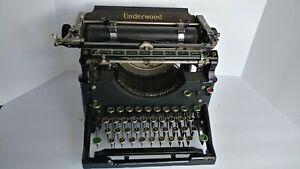 1909 Early Antique UNDERWOOD NO.5 Typewriter  Vintage   great value Ser 278967