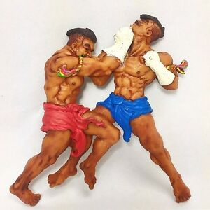 Fridge Magnet Souvenir Resin Muay Thai Boxing Handcraft Gift Collectible New Hot