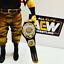 Nuevo-Cinturon-Intercontinental-WWE-Cuero-Real-para-Hasbro-Mattel-Jakks-figuras-WWF miniatura 2