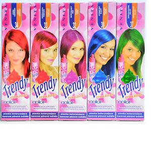 13-32-100ml-Trendy-Color-Schaumtonung-Semipermanente-Tinte-para-Cabello