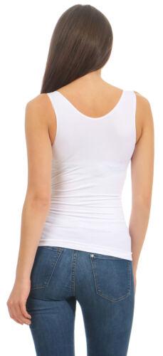 Damen Unterhemd Bauchweg Mieder Tank Top Formhemd Bodyformer Leibchen Weste Slim