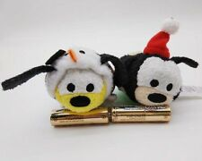 "2017 Authentic Disney Store Christmas Goofy /& Pluto 3.5/"" TSUM TSUM Plush Doll"