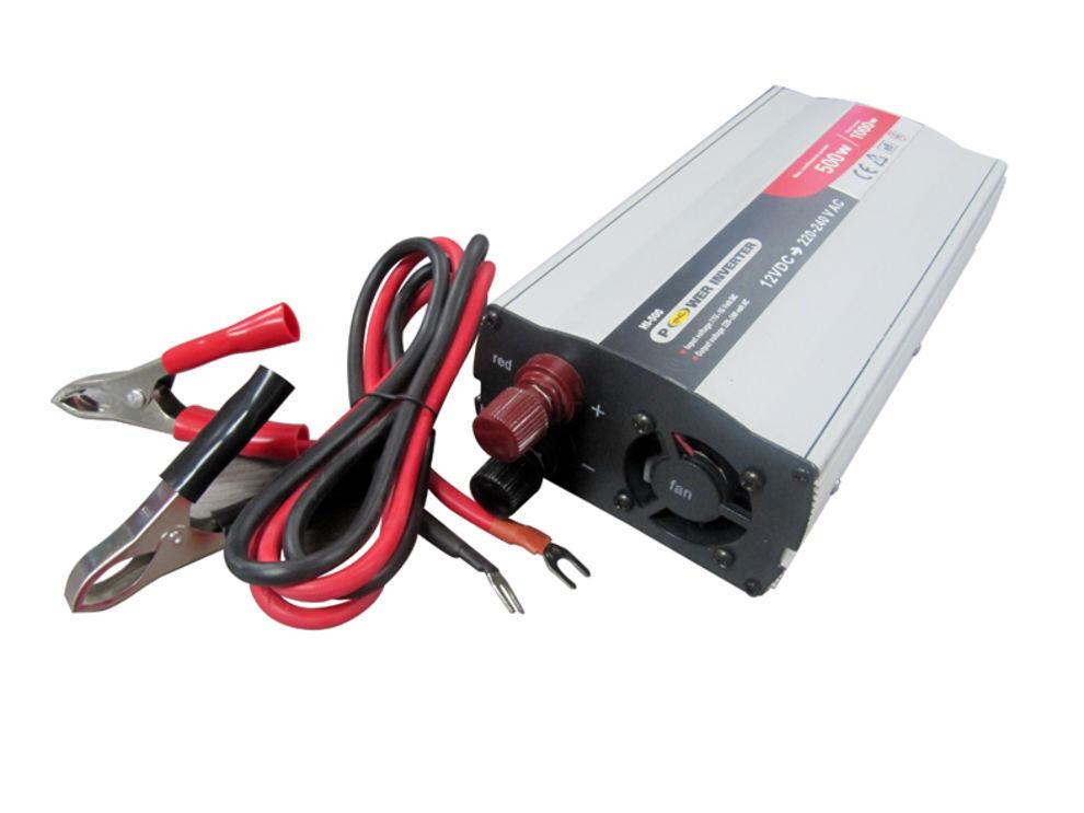 Connvertidor electricidad cc/ca 12 V a 220 V 500 W Convertidores