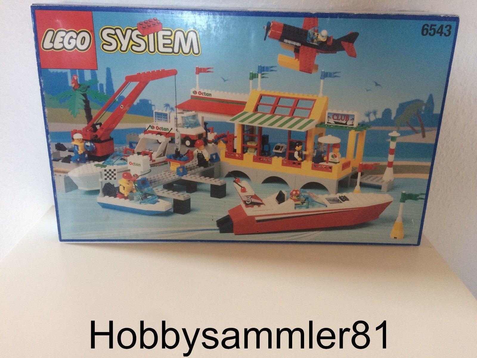 Lego® 6543 System Sail N' Fly Marina - Hafen   Neu und OVP  1