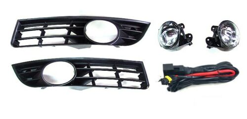 Grille 2x Anti-brouillard en verre clair faisceau pour VW Passat 3c2 3c5 E-Check.