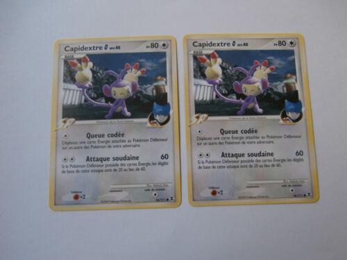 Carte Pokemon Capidextre G SP 80 pv Platine Rivaux Emergeants x 2 !!!