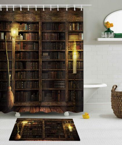 Tissu Imperméable Rétro Magic étagère Rideau de douche Liner Halloween salle de bain