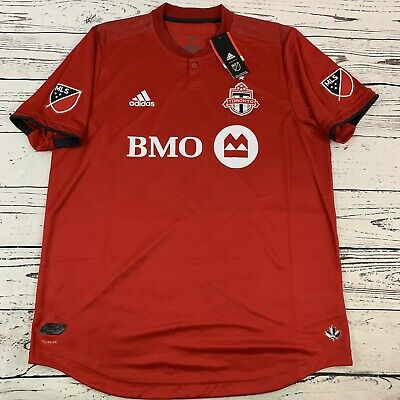 Toronto FC adidas Authentic Pro Jersey TFC Home Red Large 2019 ...