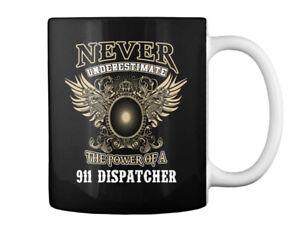 Fashionable 911 Dispatcher Gift Coffee Mug Gift Coffee Mug