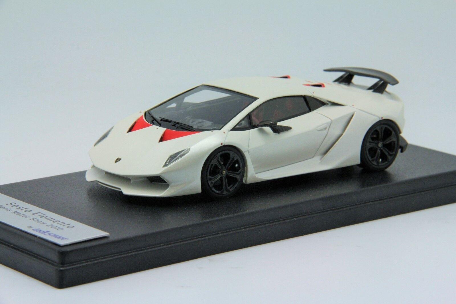 1  43 Looksmkonst Lamborghini Sesto Elemo Canopus vit fri Shipping   MR BBR