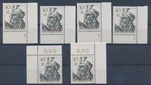Berlin Nr. 390 FN **, Eckrand Ecke 4, Formnummer 1-4 + Ecke 1+2 (40067)