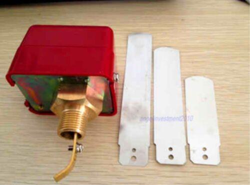 "1pc nuevo 3//4/"" 250VAC SPDT flujo de agua interruptor de control de paleta"