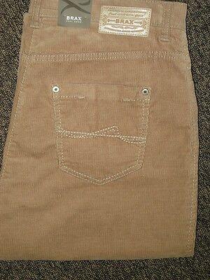 BRAX Jeans Stretchjeans Carola in Feincord beige Herbst-//Winterqualität NEUWARE