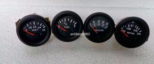 "Oil Pressure Mechanical Temp Elec Volt Fuel Gauge 0-90 ohms 2 1//16/"" 52 mm"