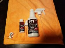 F11 TOPCOAT MASTER CRAFTSMAN POLISH & SEALER (1)16oz Bottle (2) Towels (1) 2 oz