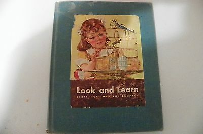 Vintage Look and Learn Color Illustrations  1949 Foresman & Scott