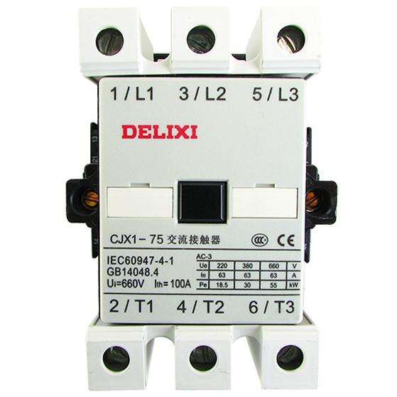 New Delixi Cjx1 22 75a Ac Contactor Brand