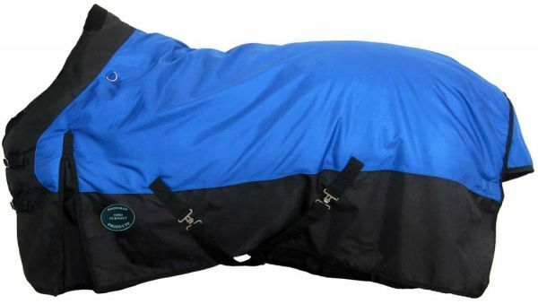 THE SHOWMAN 1680 HEAVY WINTER TURN OUT BLANKET FOR HORSE MULE DONKEY 74 76 78 80