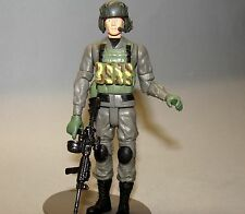 1:18 Combat Force Helicopter Pilot Crewman Figure  w/ BBI Elite Force Helmet A