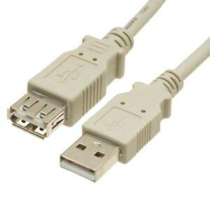 3m USB 2.0 Extension cable Triple Shielded A male - A female Premium usb2-023