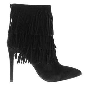 Size 5 Velvet Bnib Steve Madden Esspecial Boots Black