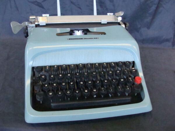 2019 Ultimo Disegno Olivetti Studio 44 Typewriter Vintage Old Macchina Per Scrivere Ivrea