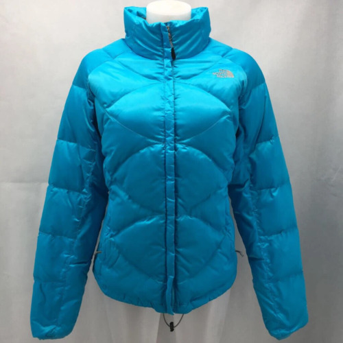 North Face Blue Puffer Jacket Large
