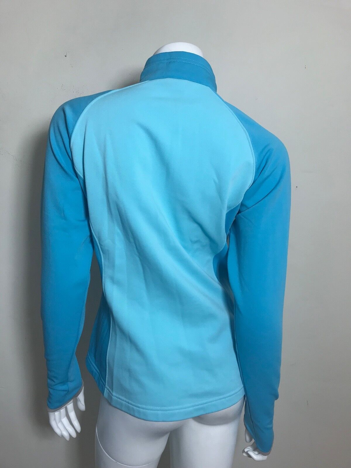 The North North North Face Women's bluee Zip Up Flight Series Size Small a2fc03