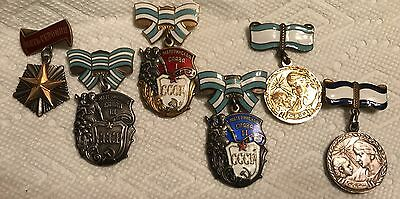 Russian Original Women's Medals