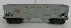 LIONEL 6456-25 LV HOPPER (GRAY/RED)