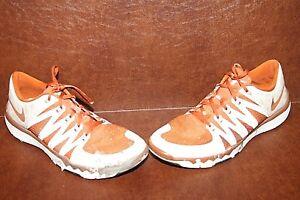 9b3bde16ee6dd Nike Men s Free Trainer 5.0 V6 Texas Longhorns  Athletic Shoes ...