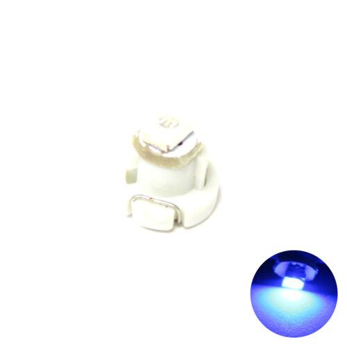 12v Dashboard Interior Light Bulb T3 1x Blue 1-SMD LED