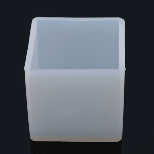 DIY Pendant Mold Jewelry Making Cube Resin Casting Mould Craft Tool D