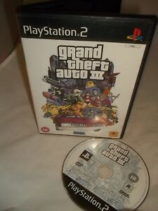 Sony-Playstation-2-PS2-Console-Game-Grand-theft-Auto-3-III