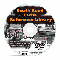 South Bend Lathe Reference Library, Parts List, Learn How To Run A Lathe Dvd V26