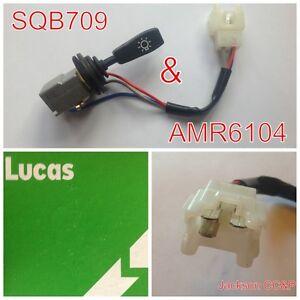 Land-Rover-Amr6104-Lucas-sqb709-FARO-DELANTERO-Luz-Lateral-Interruptor