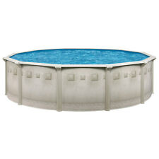 "Complete Ocean Mist 18'x52"" Round Above Ground Pool Package"