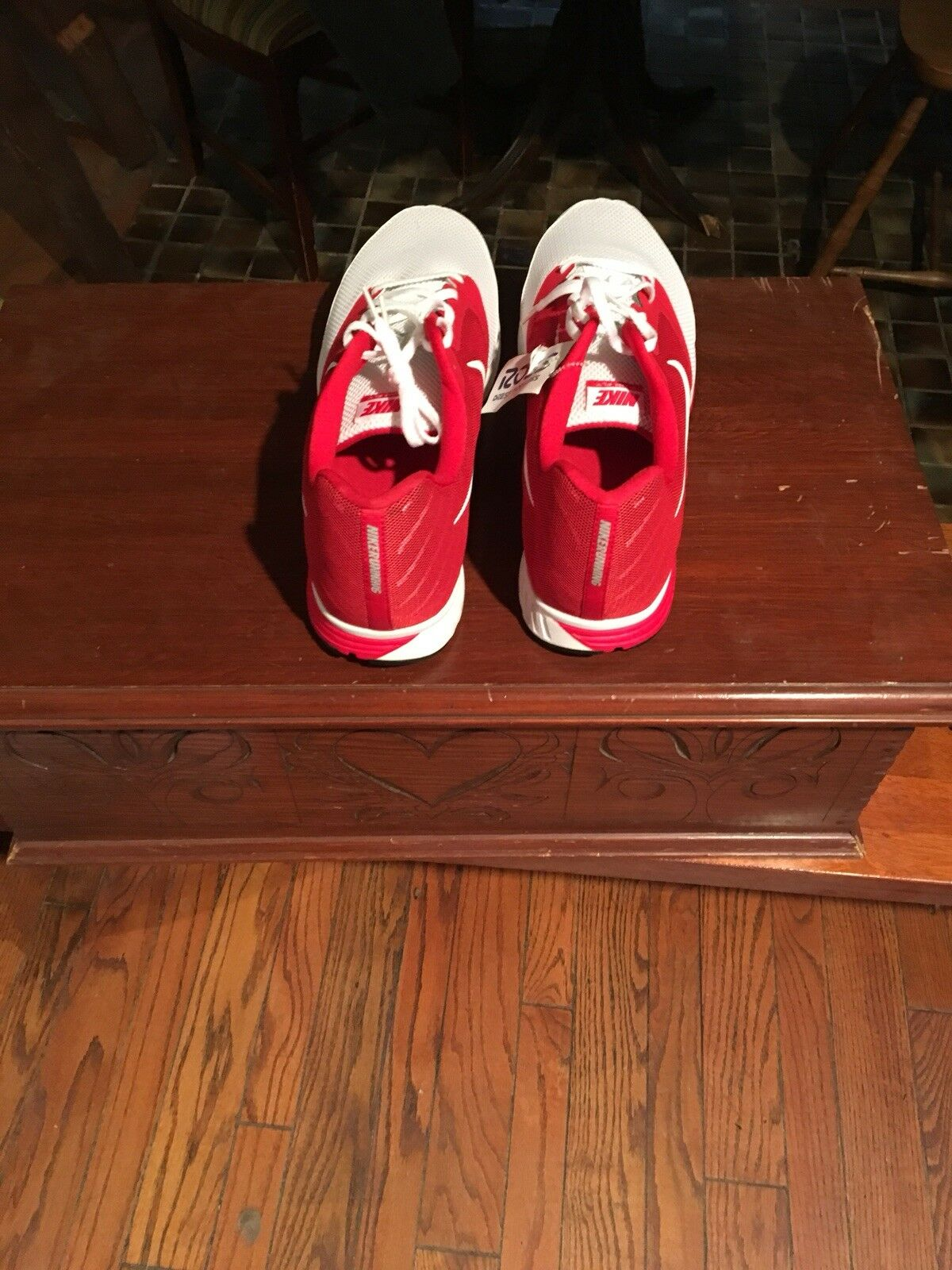 Nike Nike Nike Zoom Fly Team Men's White And Red. Size 19 104c5e