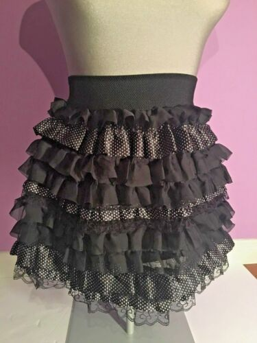 Sample zwart rok witte Vitrin Ruffled Mini Xs maat Design tqpx8AT