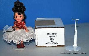 """1 Doz MINI STANDS Kaiser 1001 WHITE 3.5- 5"""" McDonalds Madame Alexander Funko Pop"""